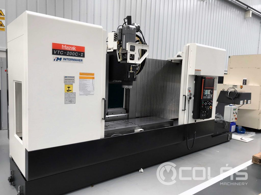 Used Mazak VTC 200C-II Vertical Machining Center