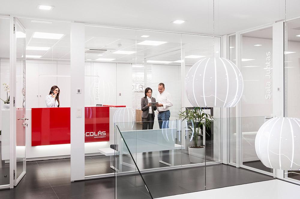 Oficina comercial de Maquinaria Colas - Compra Venta de Maquinaria Industrial Nueva y de Ocasión