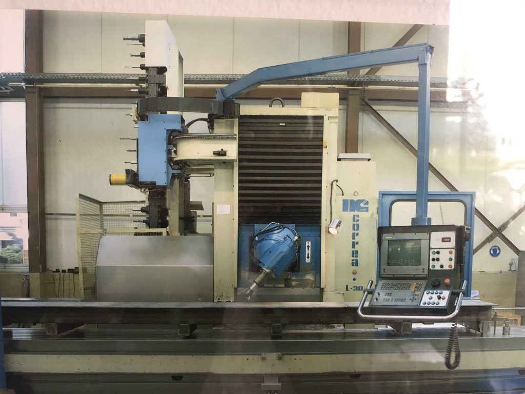 Used Nicolás Correa L30 43 milling machine