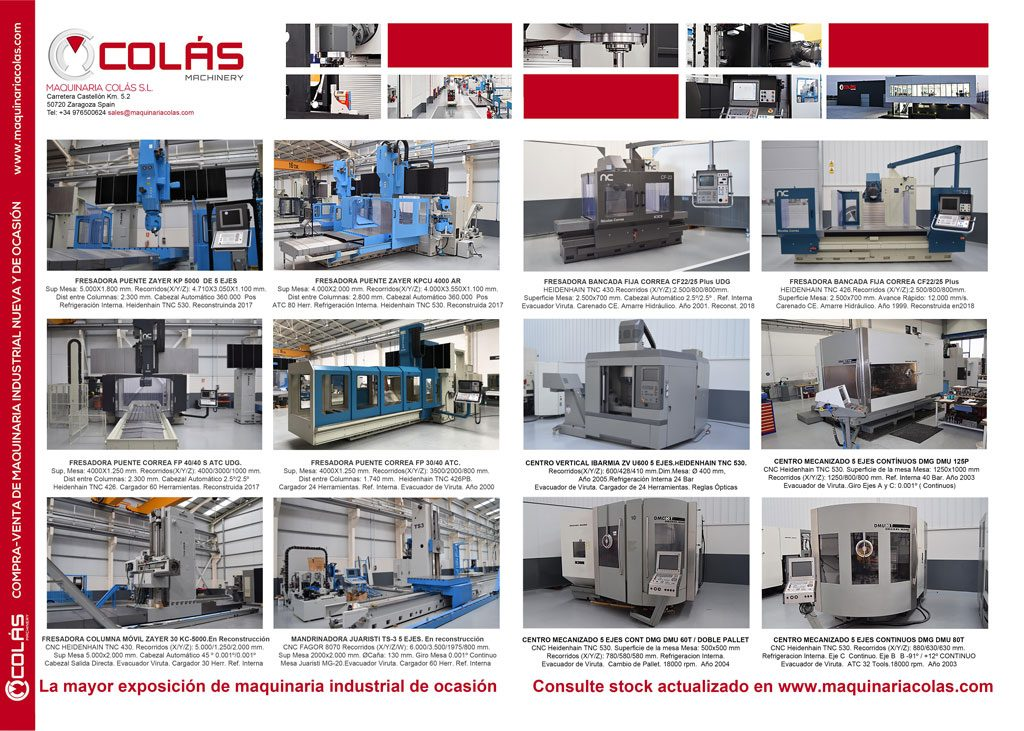Maquinaria Metalúrgica de Ocasión