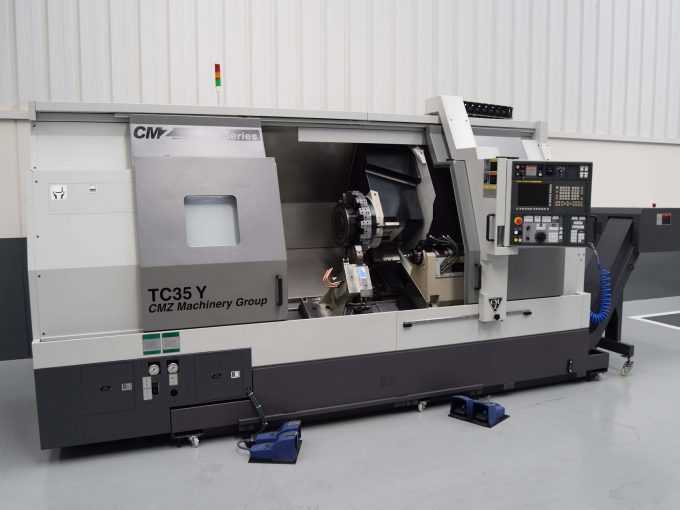Used CMZ TC35Y 1350 with CNC Fanuc