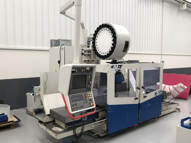Second Hand MTE K15 bed type milling machine