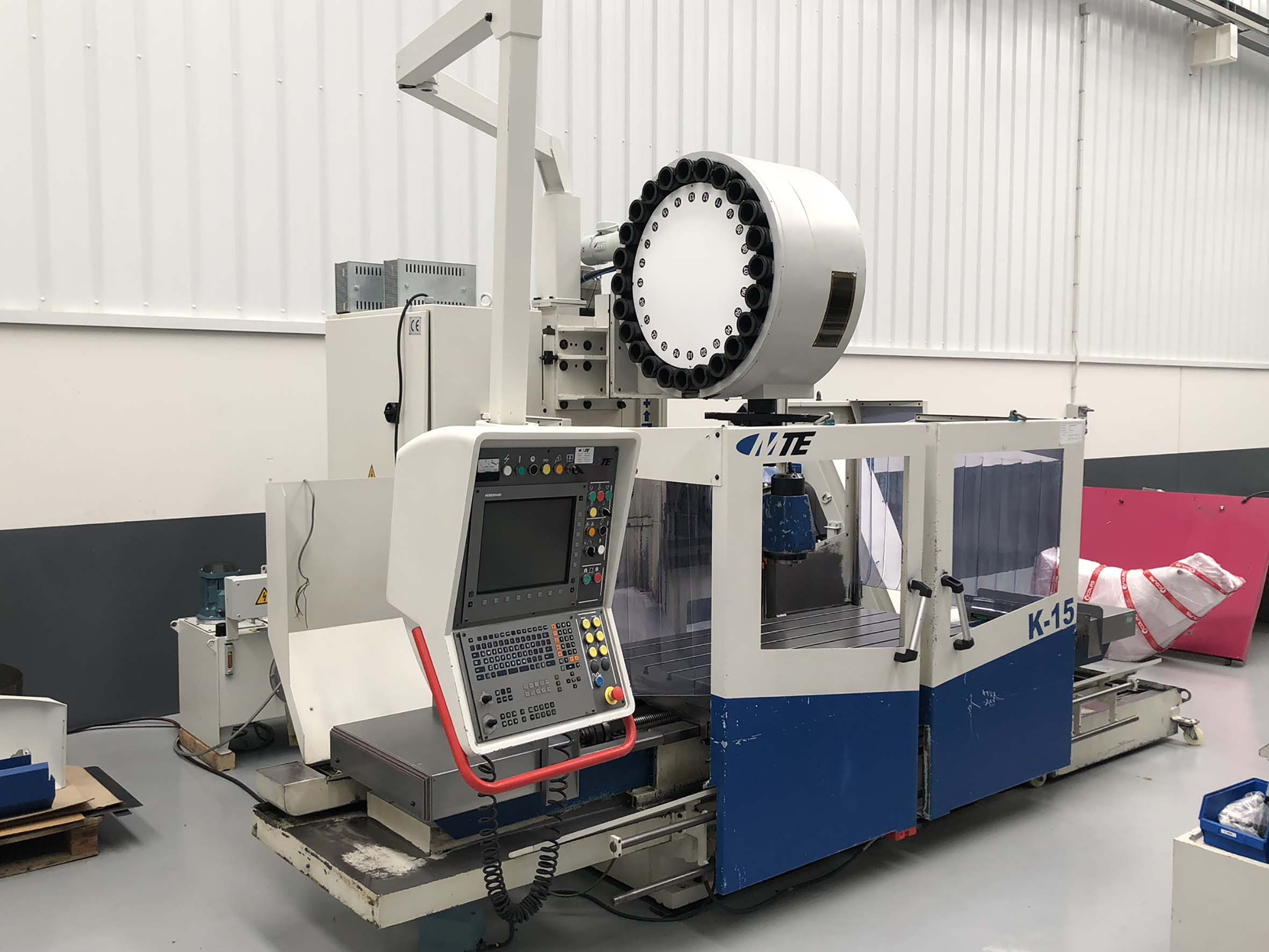 All Types Of New Milling Machines And Used Milling Machines For Sale >> Used Mte K15 Bed Type Milling Machine Maquinaria Colas