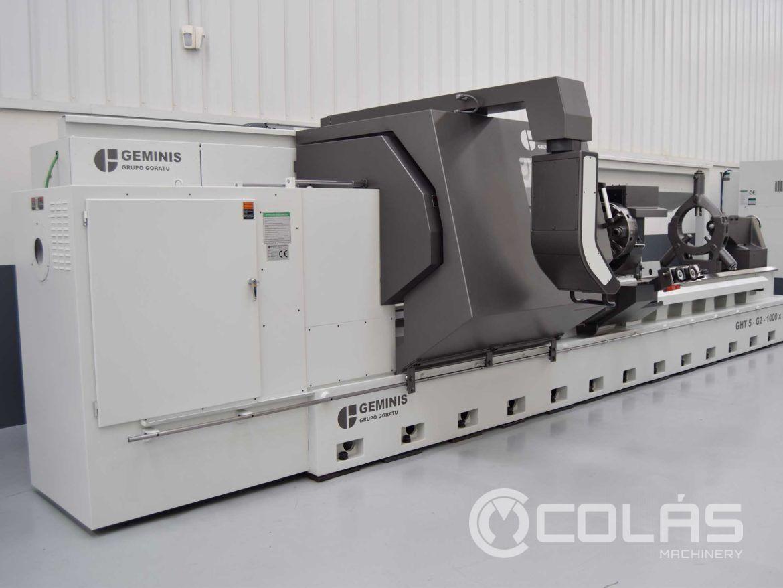 Torno CNC Geminis GHT5 usado