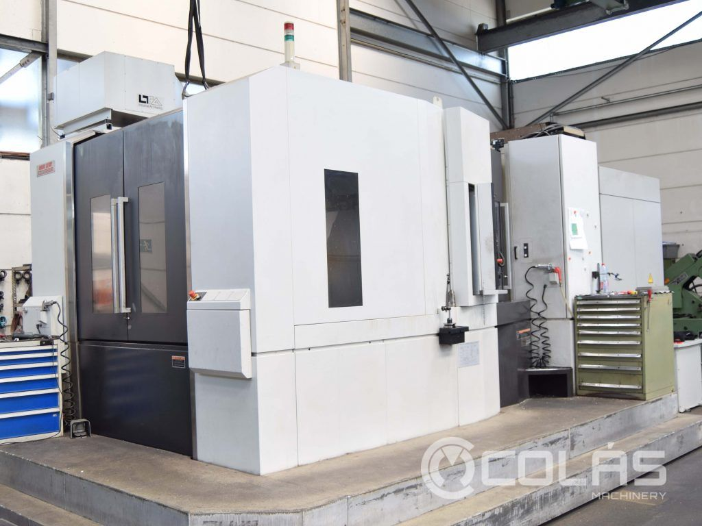 Used Mori-Seiki Horizontal Machining Center