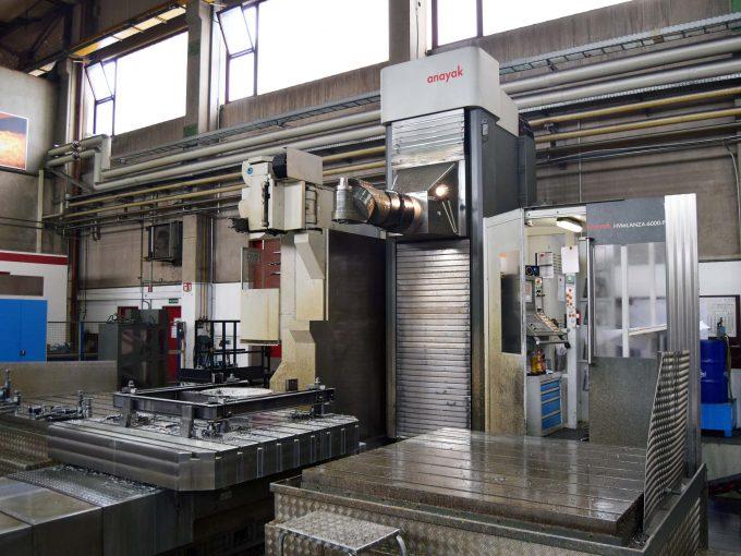 Second Hand Anayak Lanza milling machine