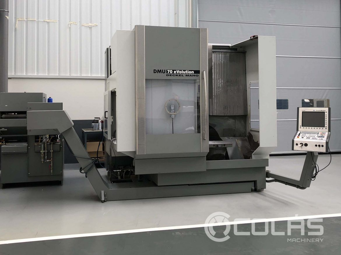 DMG DMU 70 eVo 5 Axis Machining Center for sale