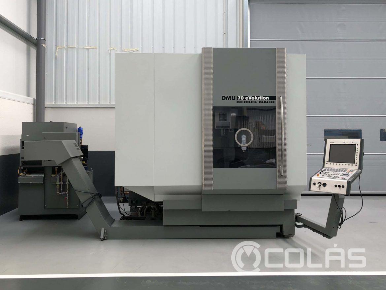 Centro de mecanizado DMG DMU 70 eVO usado