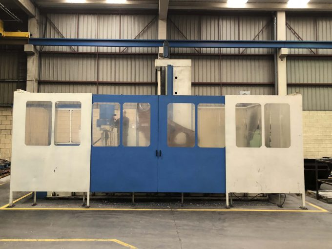 Used TOS CNC Boring Machine