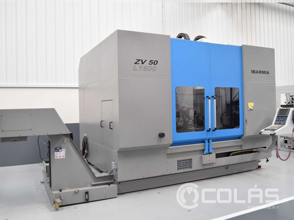Used IBARMIA ZV50-L1600 Machining Center