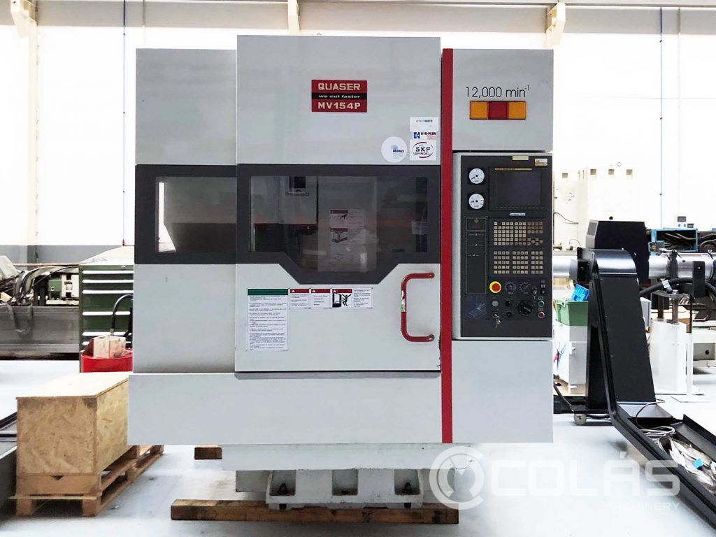 Second Hand Quaser MV154 Vertical Machining Centrer