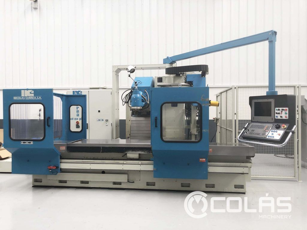 Used Correa CF22 with automatic tool changer