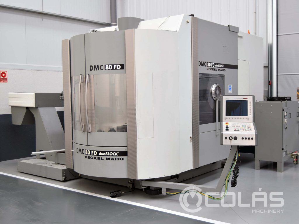 Wide Selection of Used DMG Mori Machine Tools | Maquinaria Colás