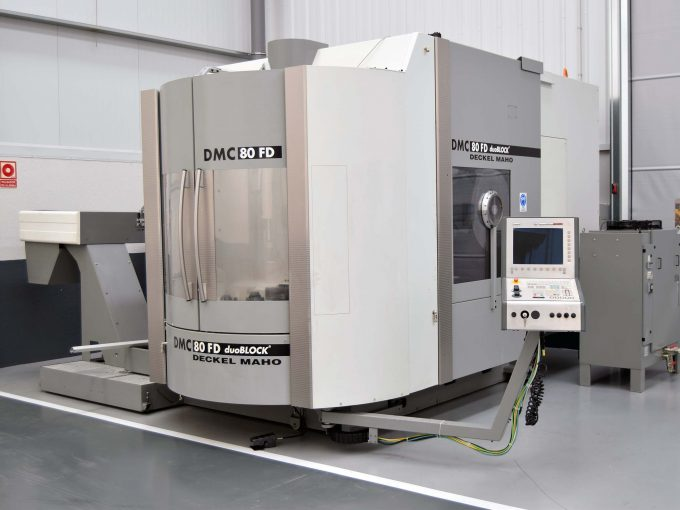 5 Axis DMG DMC 80 FD