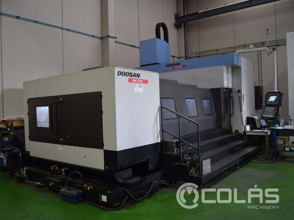 Second Hand Doosan BM-2740 Machining Center