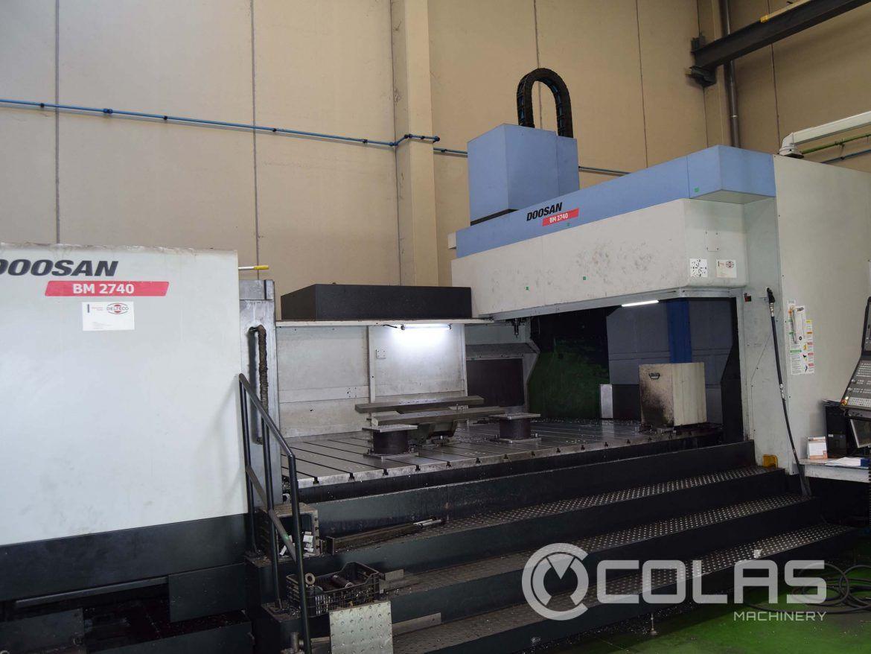Centro de Mecanizado Doosan BM 2740 usado