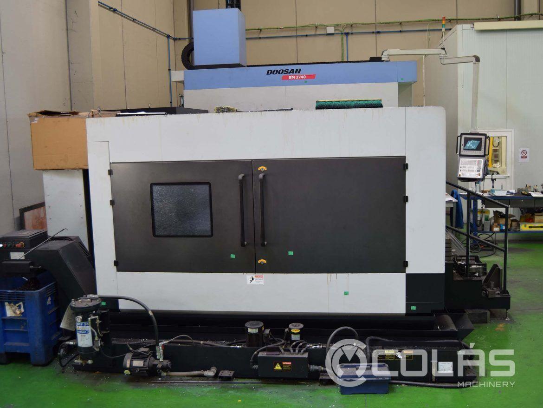 Centro doble columna Doosan BM 2740 usado