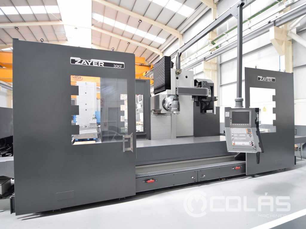 Used Zayer 30kfu4000 AR Bed Type Milling Machine