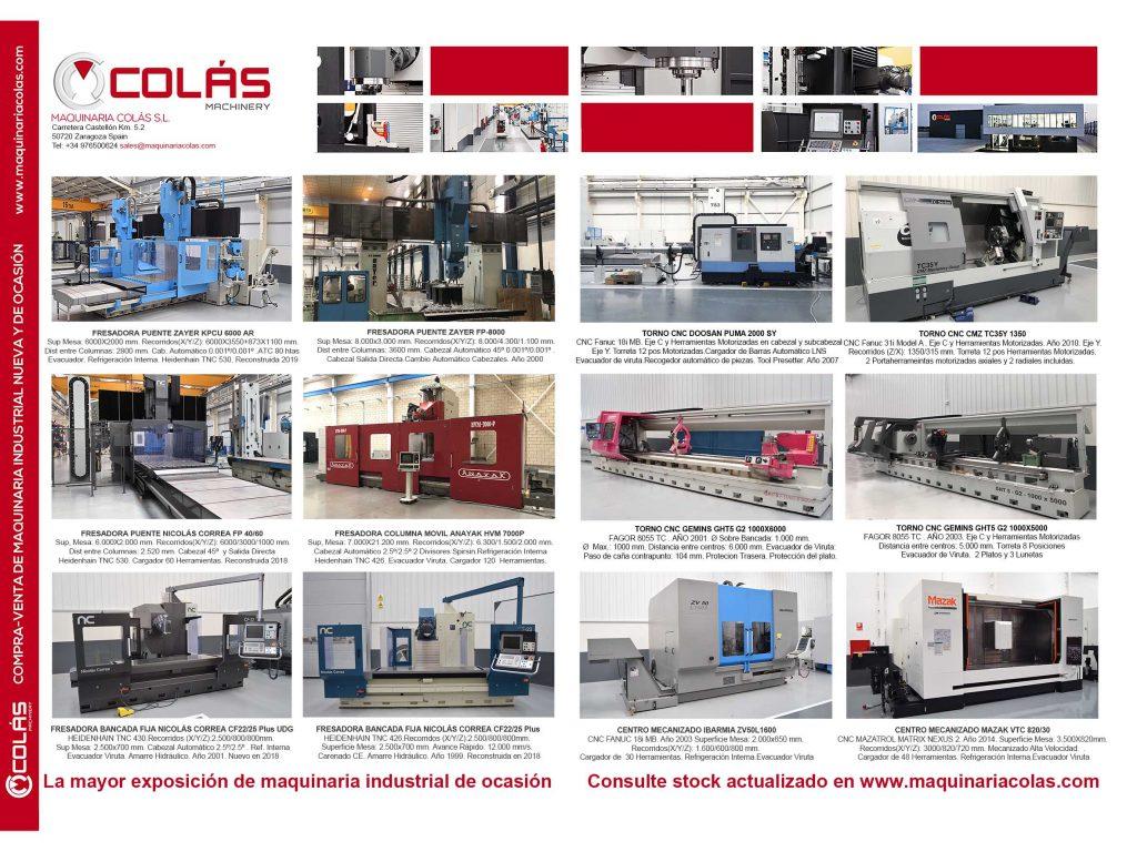 Maquinaria metal-mecánica usada