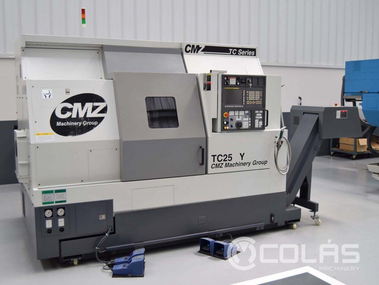 Torno CMZ TC 25Y 800 usado