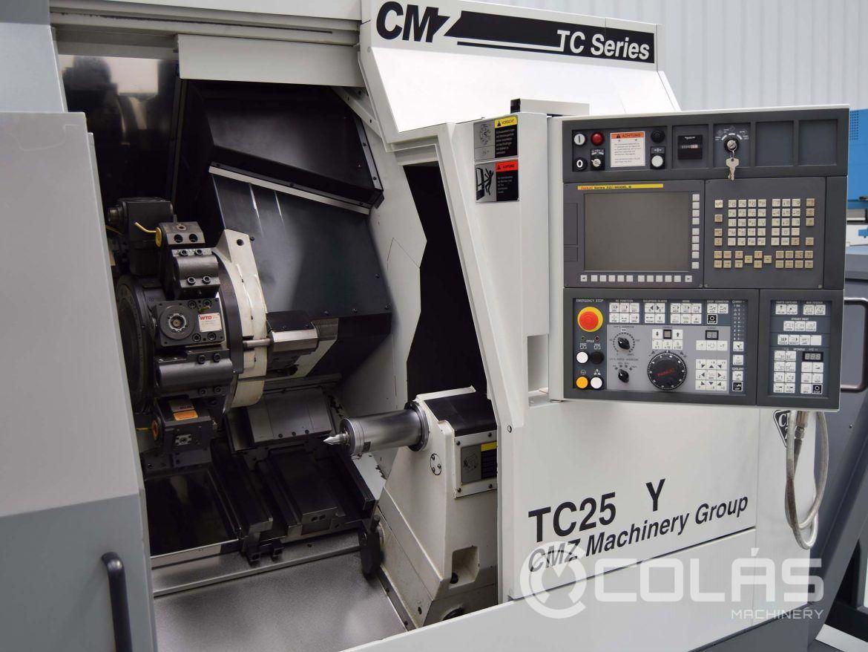 Torno CMZ TC25Y usado