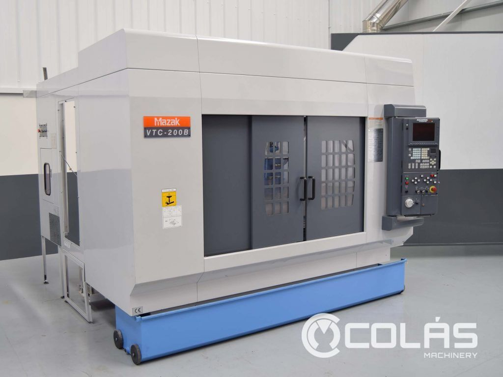 Second Hand Mazak VTC 200B