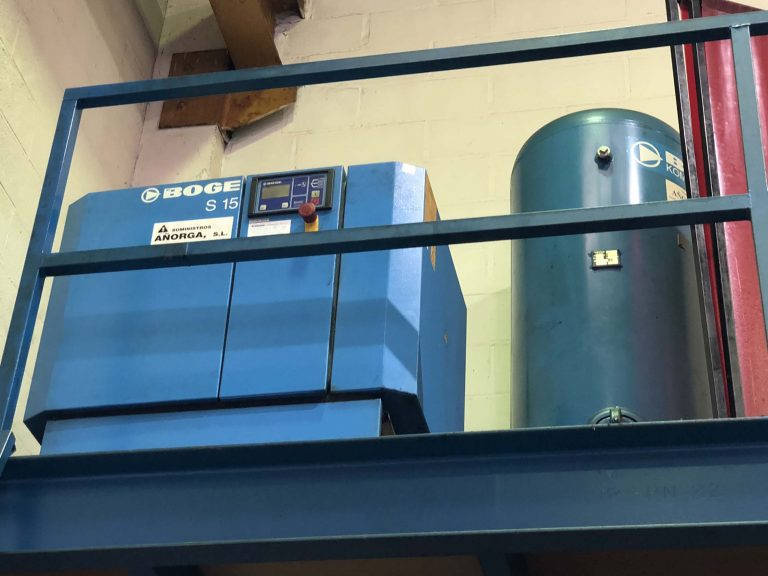 Compresor Boge en liquidación