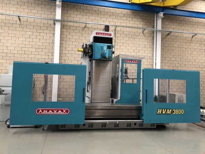 Second Hand Anayak HVM 3800 Travelling Column Milling Machine