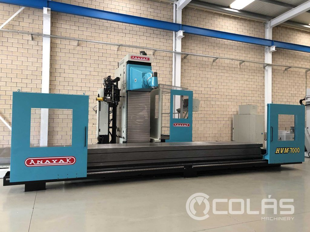 Anayak HVM 7000 Moving Column Milling Machine