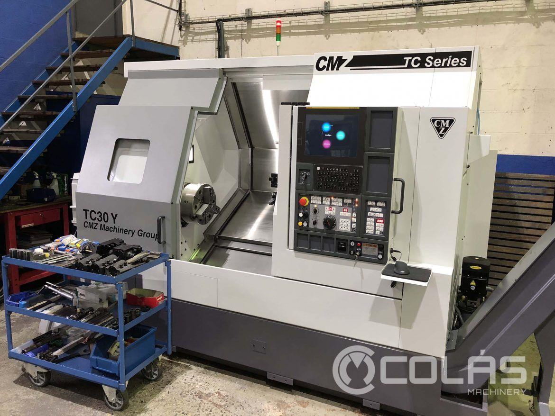 Liquidation Sale: CMZ TC30Y-800 CNC Lathe