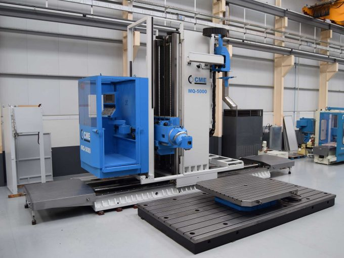 Second Hand CME MQ 5000 travelling column milling machine