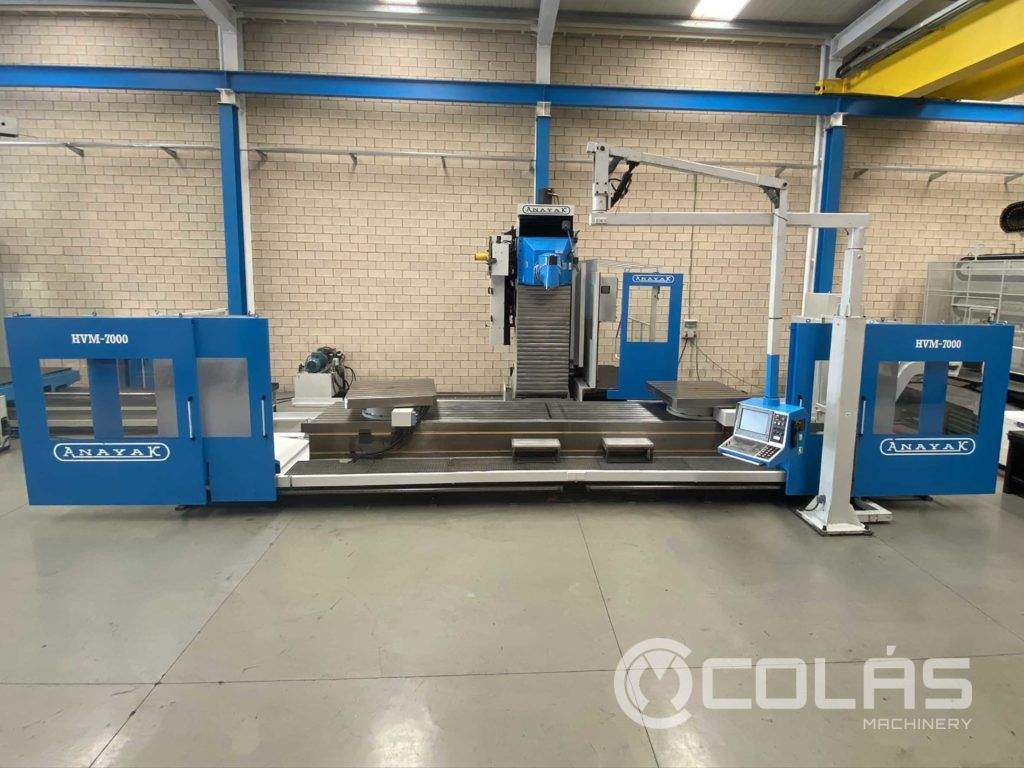 7 meter Anayak travelling column milling machine