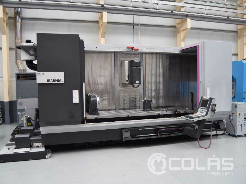 Used Ibarmia 5 Axis Machining Center