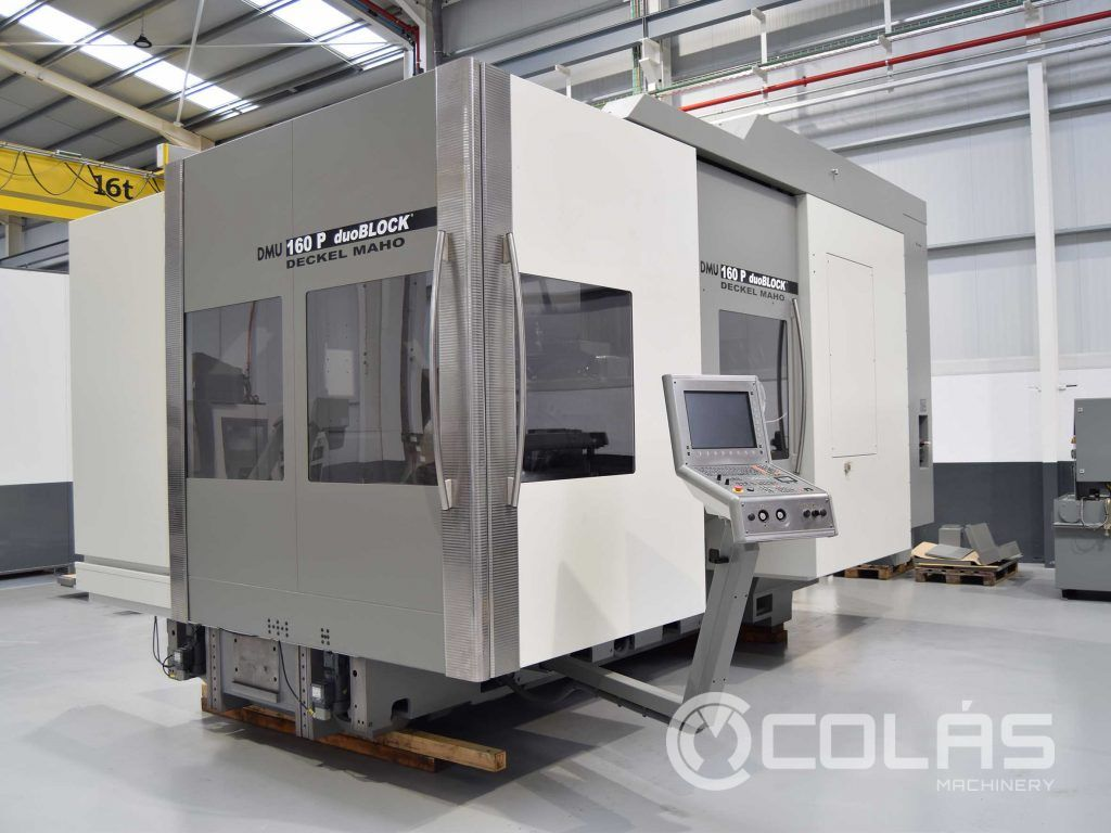 Previously used DMG DMU 160P 5 Axis