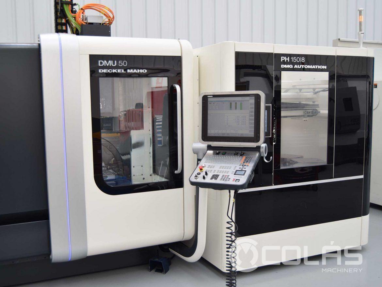 DMG DMU 50 usado