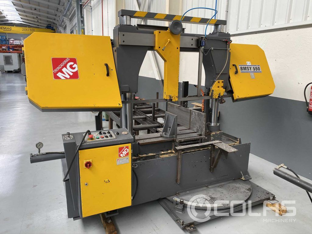 Second Hand MG band saw