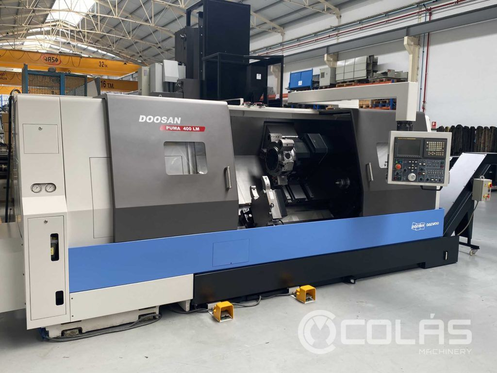 Doosan Puma CNC turning center