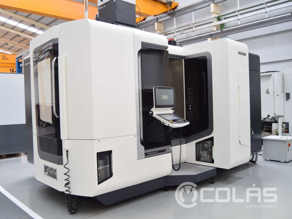 Used DMG-MORI NHX 6300