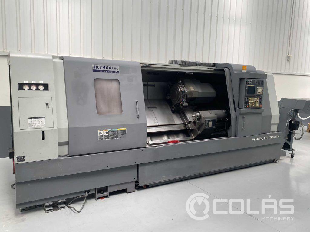 Second Hand Hyundai CNC turning center