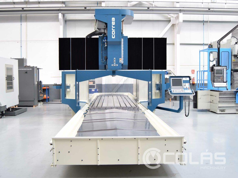 Fresadora Puente con CNC Heidenhain