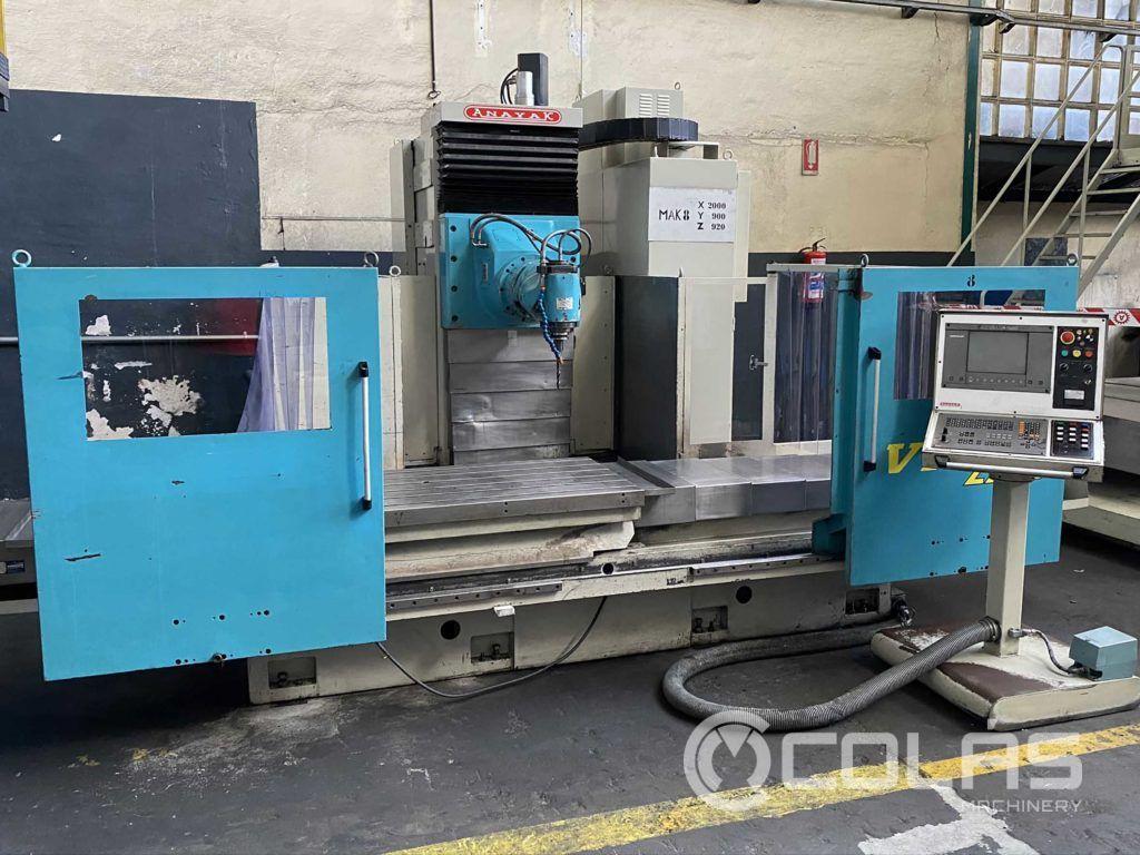 Anayak milling machine in liquidation sale