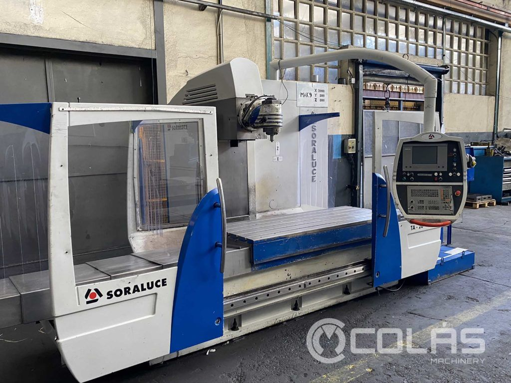 Soraluce TA 20 bed type milling machine