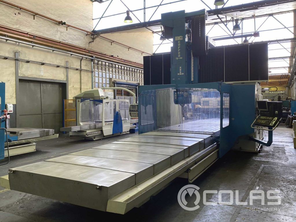 5 Axis Correa FP 4050 Bridge Type Milling Machine