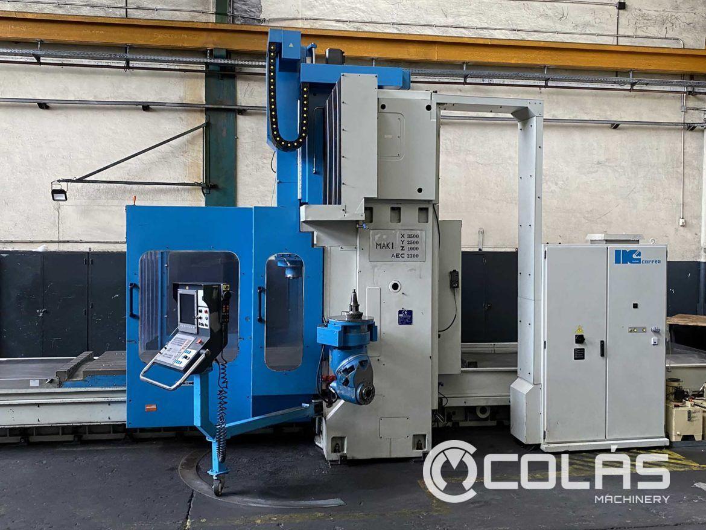 Fresadora pórtico Correa FP4040 en liquidación