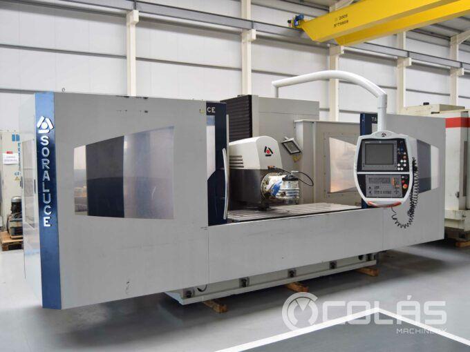 2 meter Soraluce milling machine