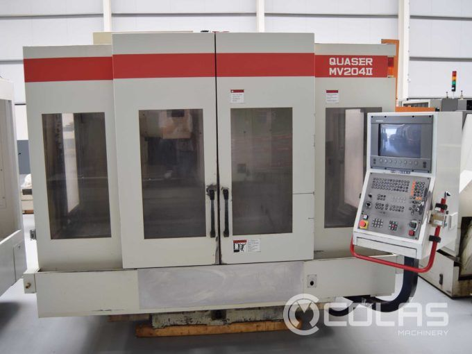 Used Quaser MV 204 II Vertical Machining Center