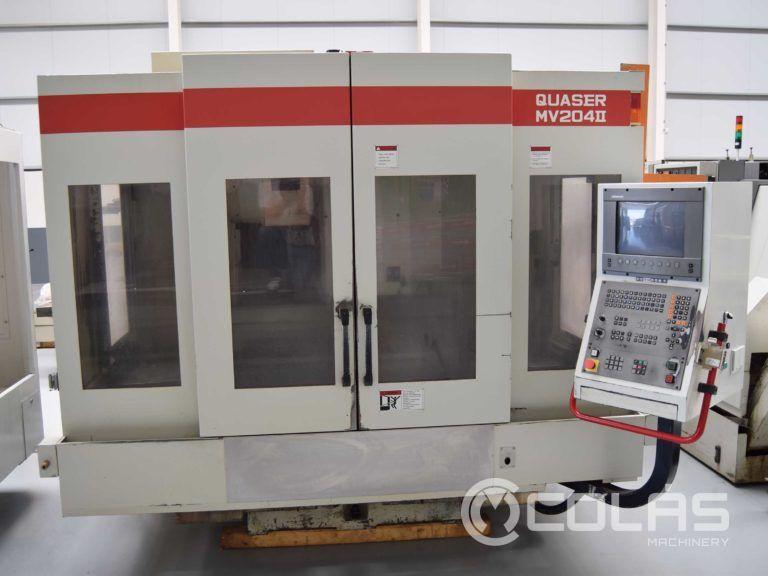 Used Quaser MV 204 II Vertical Machining Center