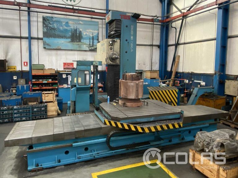 TOS WHN Boring and Milling Machine