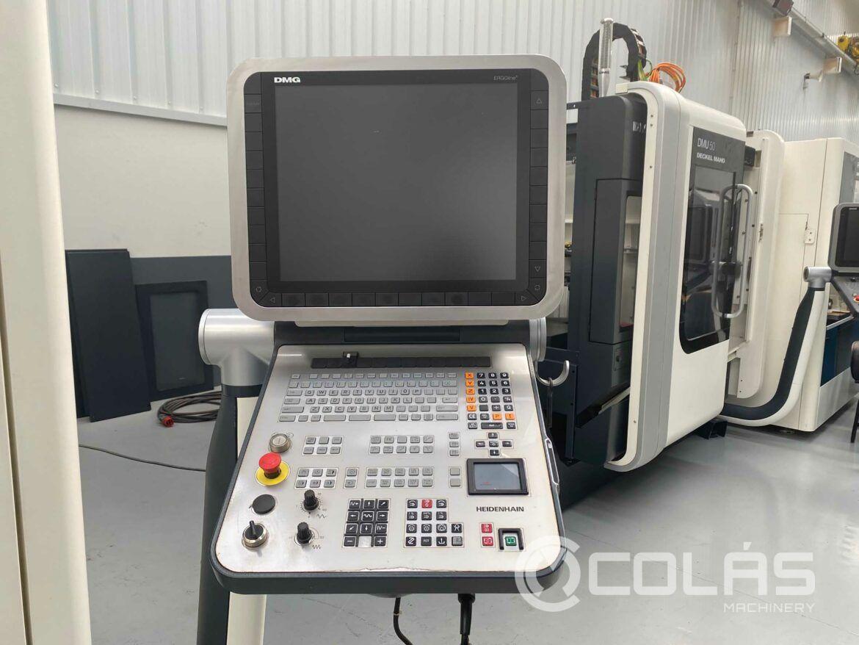 Control numérico DMG DMC 635V
