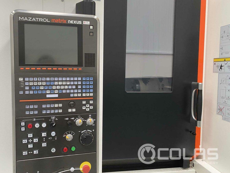 Mazak Nexus HCN 5000-II con doble palet